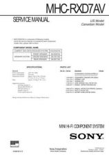 Buy Sony MHC-S9D Service Manual. by download Mauritron #242912