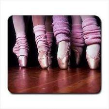 Buy Ballet Dancer Pointe Shoes Ballerina Computer Mouse Pad