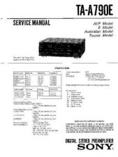 Buy Sony TA-A790N Service Manual. by download Mauritron #245224