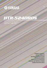 Buy Yamaha HTR-5240RDS Operating Guide by download Mauritron #248134