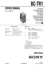 Buy Sony BCR-NWU1 Service Manual by download Mauritron #236856