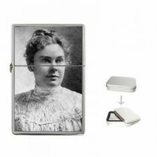 Buy Lizzie Borden Photo Portrait Cigarette Flip Top Lighter