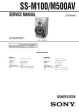 Buy Sony SS-L80L80HL100VL100VH Service Manual. by download Mauritron #244849