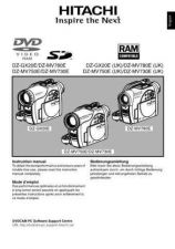 Buy Hitachi DZ-MV730E EN Manual by download Mauritron #225015