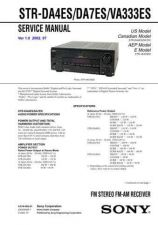 Buy Sony STR-DE135 Service Manual. by download Mauritron #245075