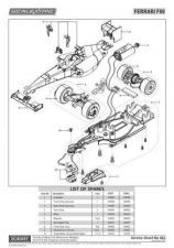 Buy Scalextrix No.462 Ferrari F60 Service Sheets by download Mauritron #206641