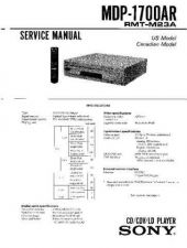 Buy Sony MDP-1700AR Manual by download Mauritron #229620
