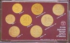 Buy Israel Official Mint Coins Set 1985