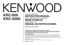 Buy Kenwood KRC-559R Operating Guide by download Mauritron #222636