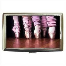Buy Ballet Dancer Pointe Shoes Ballerina Cigarette Money Card Case