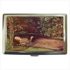 Buy Ophelia Hamlet Suicide Cigarette Money Credit Business Card Case