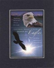 Buy They Shall Mount Up With Wings as Eagles . . . 8 x 10 Inches Biblical/Religious