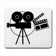 Buy Movie Camera Film Maker Director Art Computer Mouse Pad