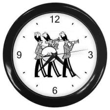 Buy School Marching Music Band New Wall Clock