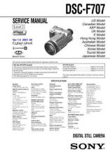 Buy Sony DSC-F717 Technical Information by download Mauritron #235566