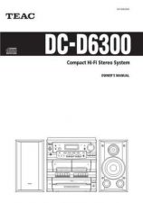 Buy Teac DC-D6300(E)TA Service Manual by download Mauritron #223653