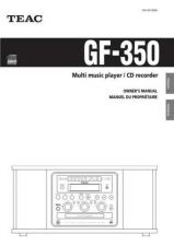 Buy Teac GF-350(EF)B Service Manual by download Mauritron #223741