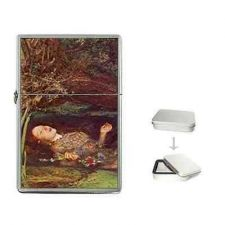 Buy Hamlet Ophelia Suicide Millais Art Cigarette Flip Top Lighter