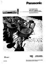 Buy Panasonic NVFJ600 Operating Instruction Book by download Mauritron #236204