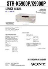 Buy Sony STR-KSL7SL7TA-KSL7 Service Manual. by download Mauritron #245164