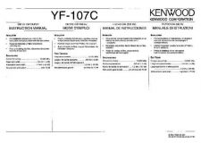 Buy Kenwood YF-107C Operating Guide by download Mauritron #220017