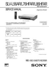 Buy SONY SLVE800IT VIDEO SERVICE MANUAL Technical Info by download #105170