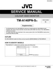 Buy JVC TM-A140PN-S-C Service Manual Schematic Circuit. by download Mauritron #272621