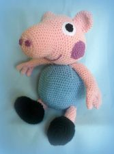 Buy Crochet Peppa Pig's brother - PDF Pattern