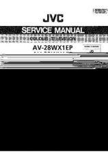 Buy JVC AV-28WX1EP- by download #101339