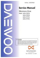 Buy Daewoo. G37BG0S001(r)_1. Manual by download Mauritron #213058