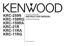 Buy Kenwood KRC-165 Operating Guide by download Mauritron #222489