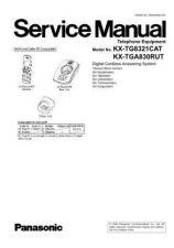 Buy Panasonic KX-TG8321PDB KX-TGA830FXB by download Mauritron #267491