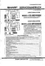 Buy Sharp CDMD3000H-W SM DE(1) Service Manual by download Mauritron #208632