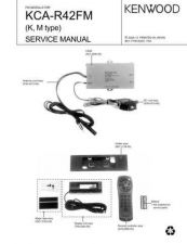 Buy KENWOOD KCA-R42FM Technical Information by download #118625