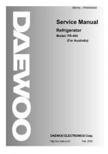 Buy Daewoo FR45400000 Manual by download Mauritron #226051