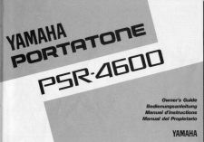 Buy Yamaha PSR4600E 1 Operating Guide by download Mauritron #249352