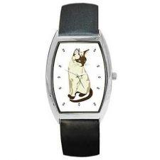 Buy Siamese Cat Kitty Feline Art Unisex Wrist Watch