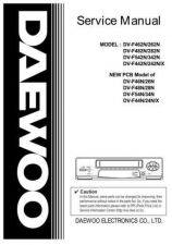 Buy Daewoo. DV4K611DZ-1_2. Manual by download Mauritron #212910