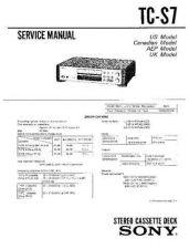 Buy Sony TC-KA6ES Service Manual. by download Mauritron #245406