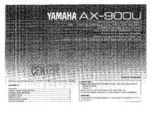 Buy Yamaha AX-870 Operating Guide by download Mauritron #246802