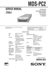 Buy Sony MDS-PC1 Service Manual. by download Mauritron #242713