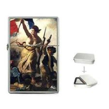 Buy Liberty Leading The People Delacroix Art Cigarette Flip Top Lighter
