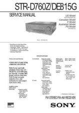 Buy Sony STR-V505 Manual by download Mauritron #229867