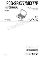 Buy Sony PCG-GRX770 Service Manual. by download Mauritron #243338