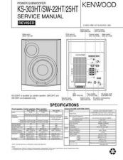 Buy KENWOOD KS-303HT SW-22HT 25HT Technical Information by download #118760