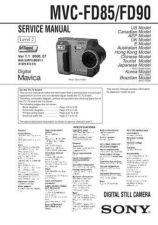 Buy Sony MVC-FD83FD8MVC-FD83FD888 Service Manual. by download Mauritron #243012