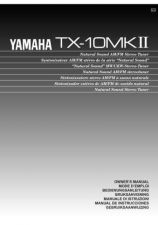 Buy Yamaha TX-10MKII Operating Guide by download Mauritron #250109