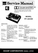 Buy Sharp RT3500H (1) Service Manual by download Mauritron #210343