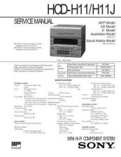 Buy Sony HCD-H1000 Service Manual by download Mauritron #241086