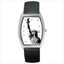 Buy Statue Of Liberty Art Unisex Wrist Watch